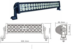 LED Lighting Bar 120W