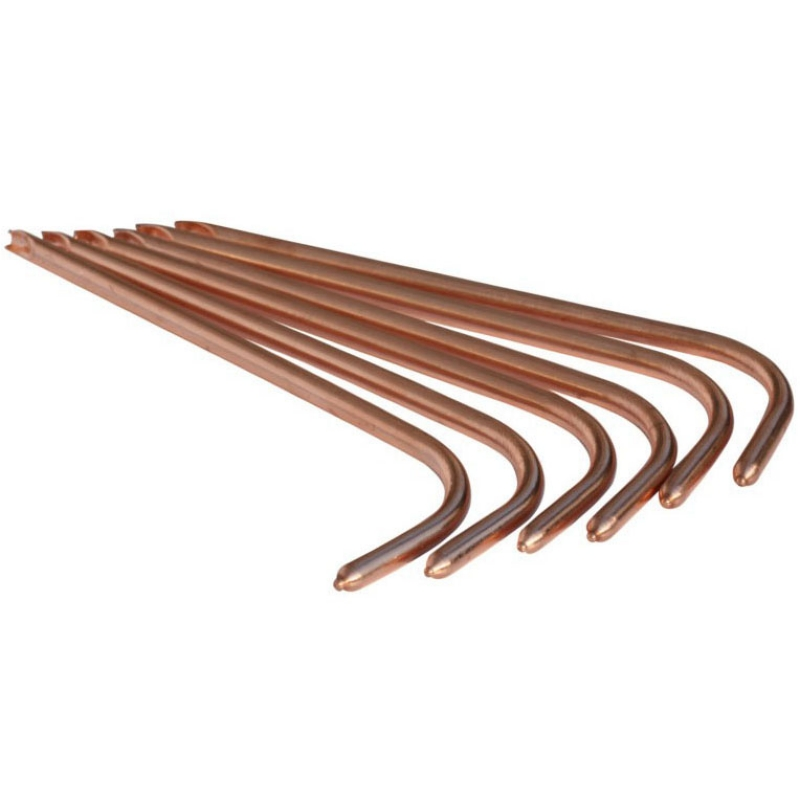 copper groove heat pipes with 5mm-10mm diameters and 70mm-400mm lengths
