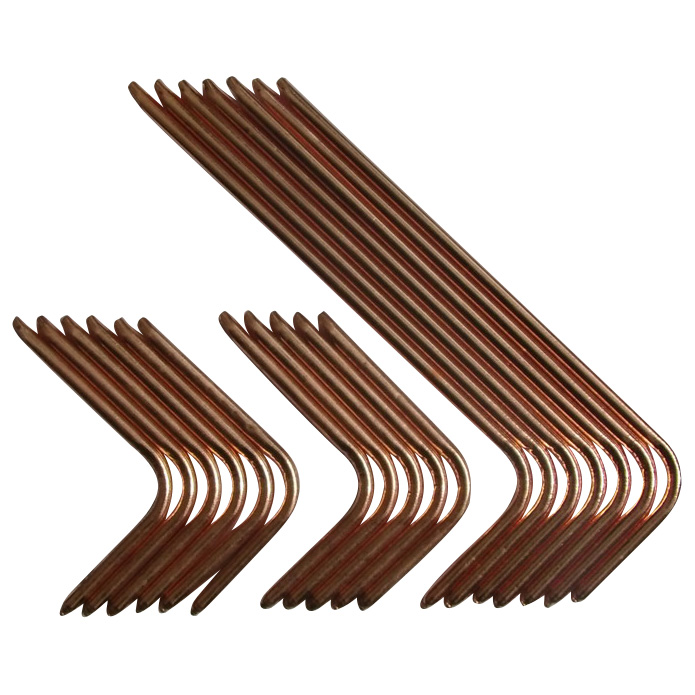 copper  groove and sintered heat pipes for heat transfer
