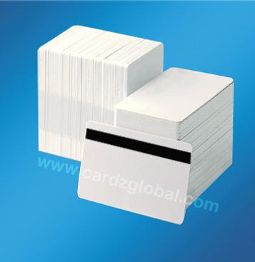 Plastic card---PVC blank card-PVC blank with magnetic stripe