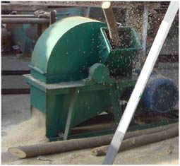 Sawdust Crusher and Dryer for Pellet mill