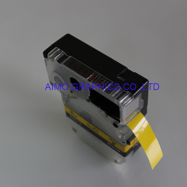Compatible label ribbon for Brother P-touch,DYMO,CASIO,EPSON & KING JIM.