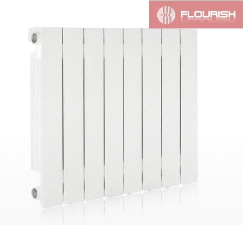 Wall mounted Hot Water   Radiator /Die Casting Aluminum Radiator FLS-H-500A