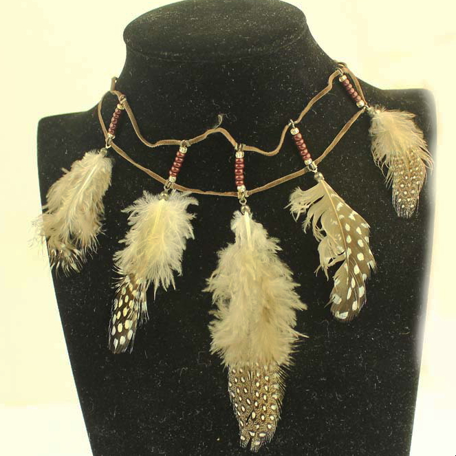 2013 new fashion charming love feathers chocker necklace jewelrys