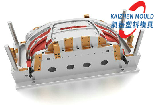 Auto plastic rear bumper injection plastic mould