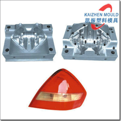 Customized design car tail lamp mould in Zhenjiang