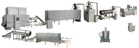 The Corn Flakes Processing Line