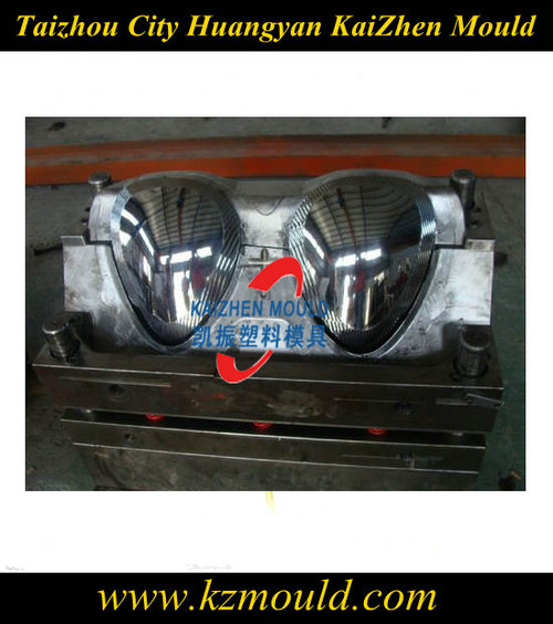 Auto plastic fog lamp mould maker in Zhejiang