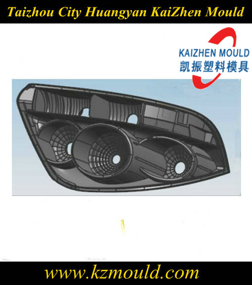 Professional design plastic injection car headlight mold