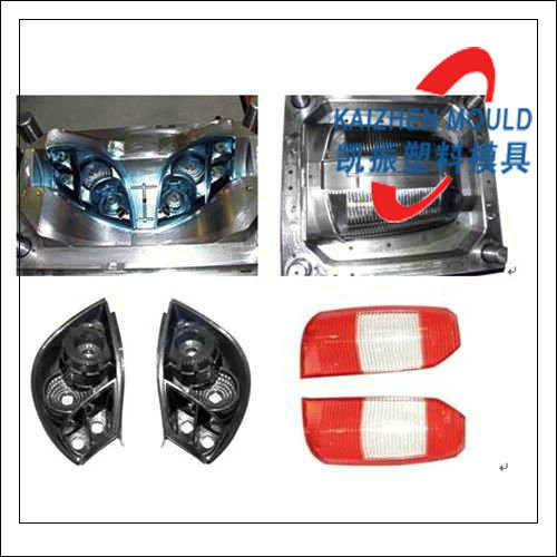 Automobile plastic headlight injection mould