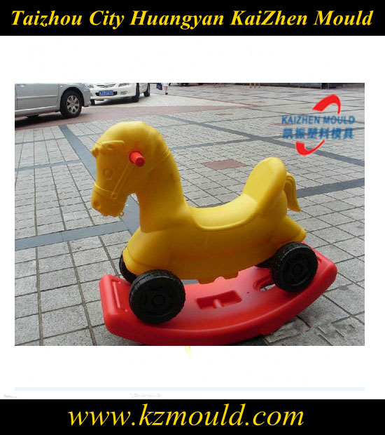 Supply the best quality children toy mould,the rock horse mould