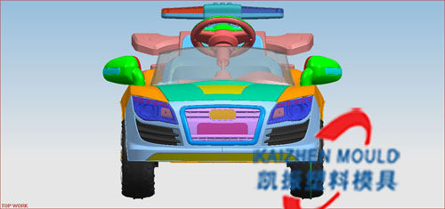 Best sales kids' car plastic injection mould