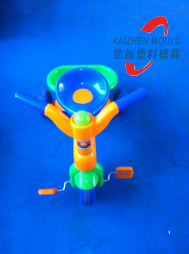 Plastic children bench car injection mould