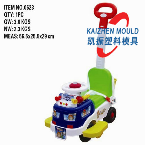 Professional design kids' car mold