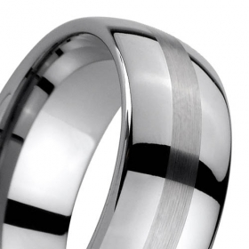 New Tungsten Carbide wedding band  rings