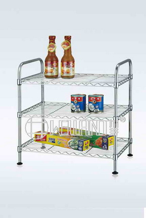 Chrome Metal Wire Kitchen Rack