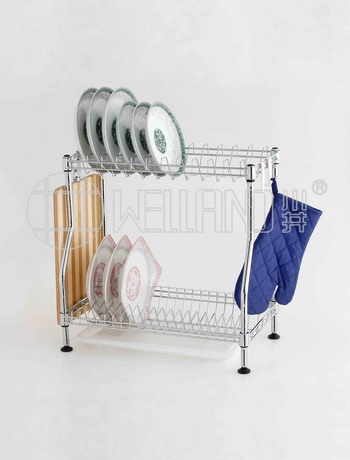 DIY Patent Dish Drying Rack