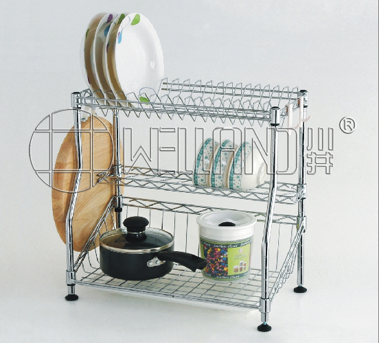Patented Wire Kitchen Dish Drainer Rack