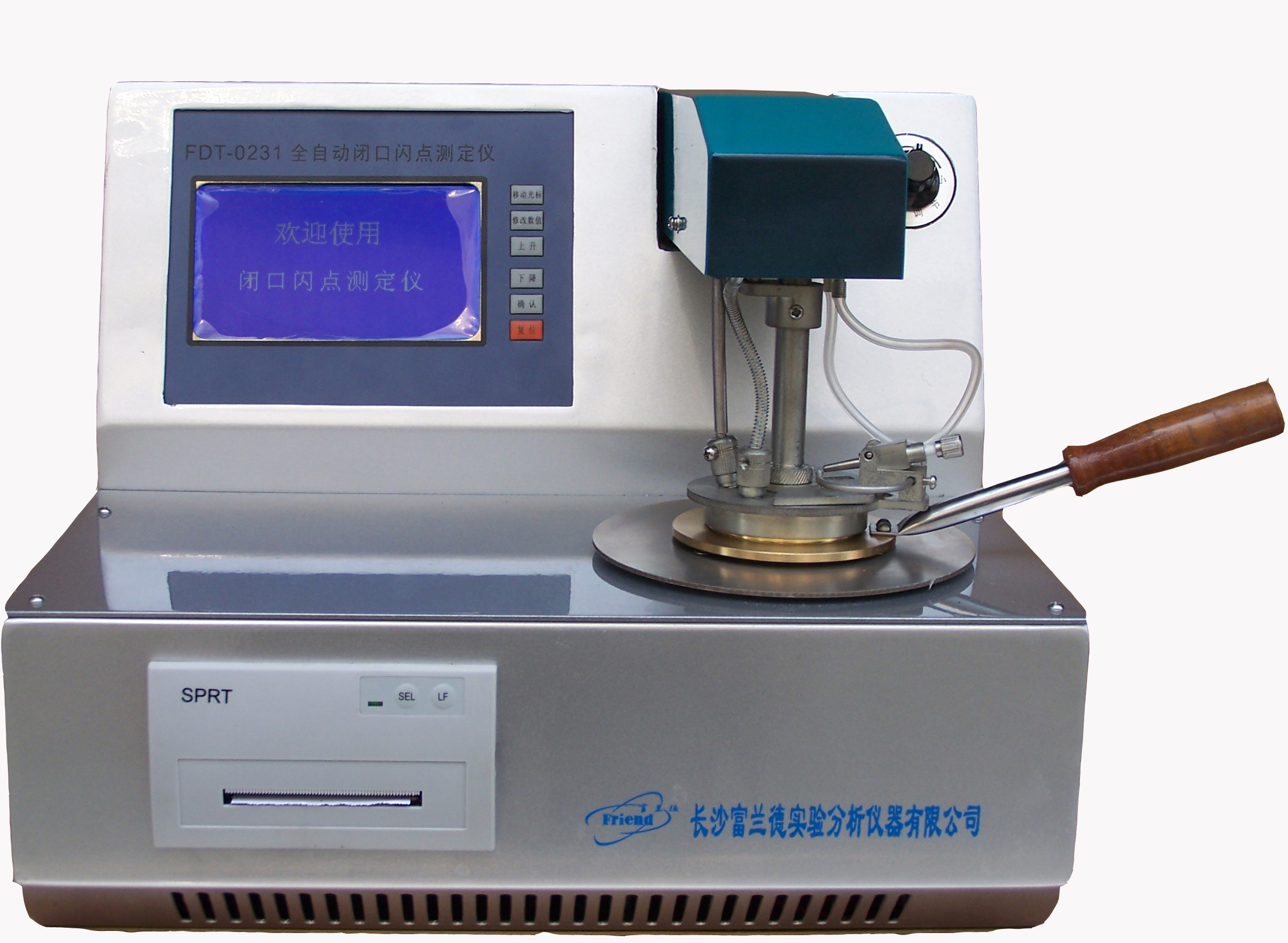 FDT-0231  lab equipment Automatic Closed cup flash point tester of petroleum products