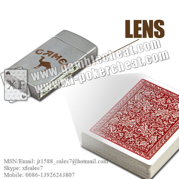 Zippo Lighter Lens/poker analyzer/poker cheat/contact lens/infrared lens/poker scanner/marked cards