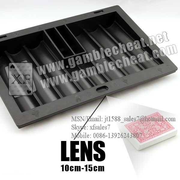 Chiptray Hidden Lens/poker analyzer/poker cheat/contact lens/infrared lens/poker scanner/marked cards