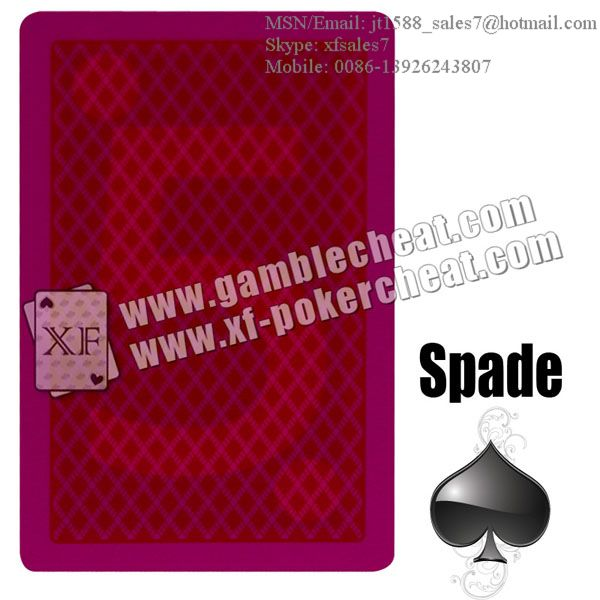 Bee marked cards/poker analyzer/poker cheat/contact lens/infrared lens/poker scanner/marked cards