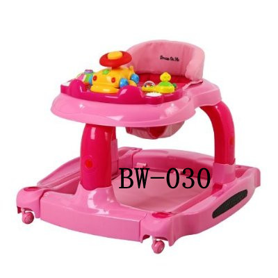 BW-030- Musical Baby Walker- Pink with Mini Tool
