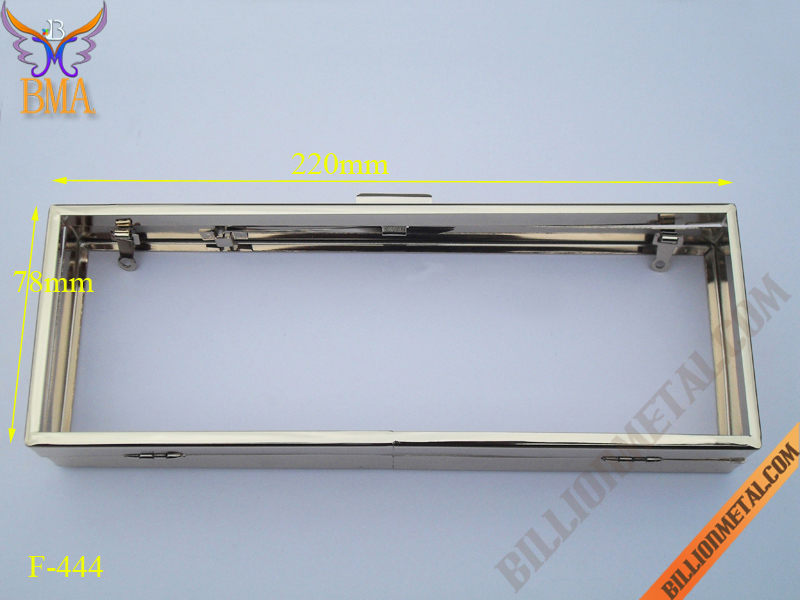 8 Inch(220mm) Handbag Accessories Purse Frame (F-444)