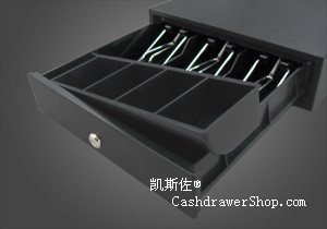 Kasrow KSZ-412 Cash drawer 4/5/6/8 Bills/8 Coins (Metal wire grips)