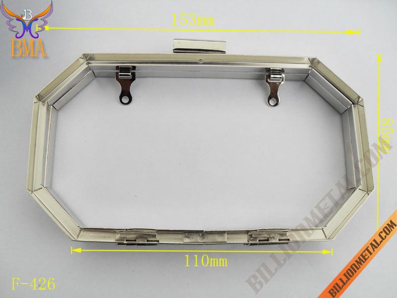 6 Inch Fashion Octagon Evening Bag Box Frame (F-426)/Handbags ...