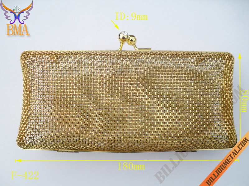7 inch(180mm) Clutch Evening Bag Box Frame (F-422)