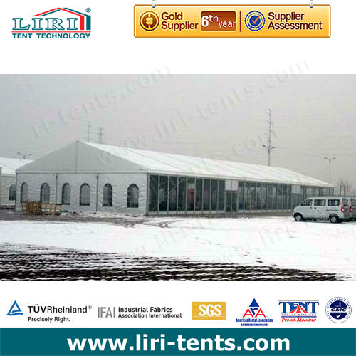 Anti-snow Warehouse Tent for logistics, storage, wharf or port, distribution center, supermarket
