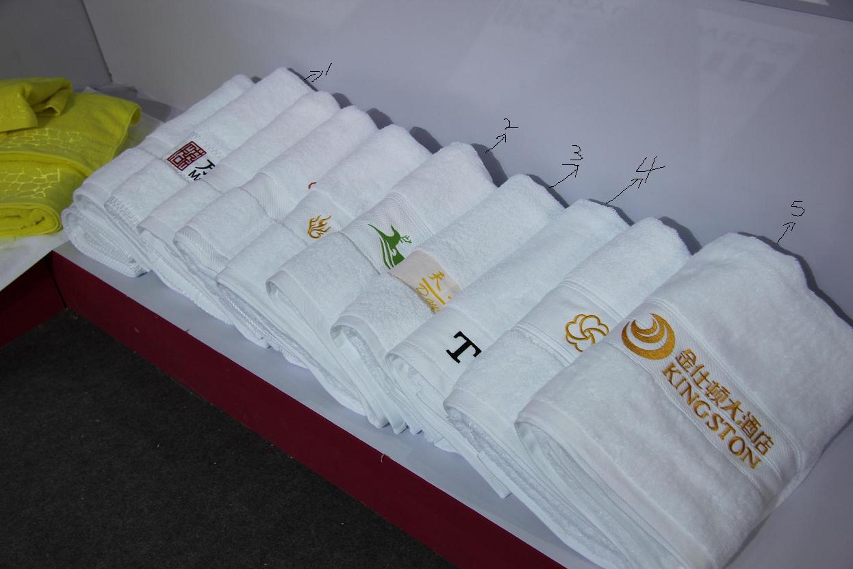 boutique satin hotel hand towel