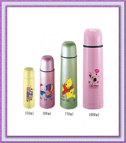 stainless steel Vacuum bullet thermo flask