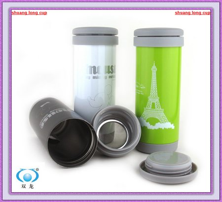 S/S 201 vacuum thermos flask with filter net SL-3950