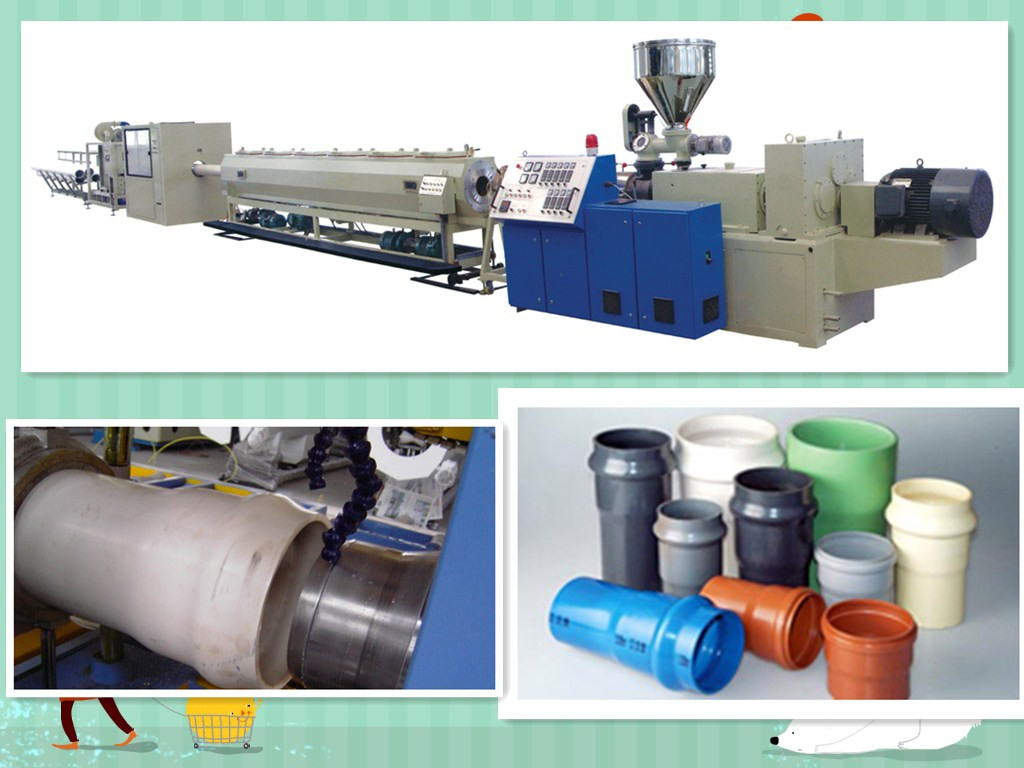 UPVC/CPVC Water Supply/Drainage Pipe Extrusion Line