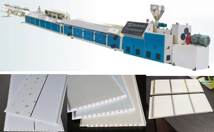 PVC ceiling panel extruder machinery