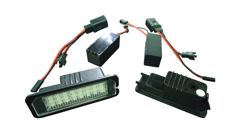 大众 GOLF6/GOLF5/NEW BEETLE//Passat B6 4D/ VW CC /Phaeton/POLO/Scirocco LED 汽车牌照灯 ,LED CAR LIGHT