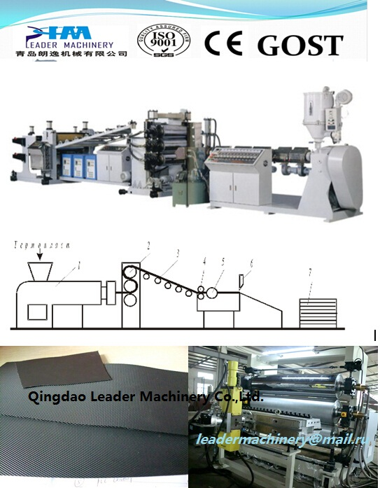 PP/PE Sheet Extrusion Line