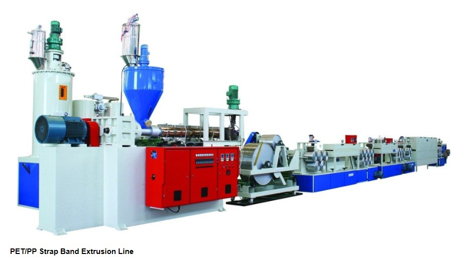 PP|PET strap extrusion line