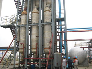 industry waste water evaporator / waste water treatment system