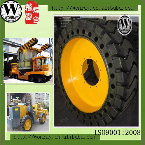 Industrial Solid Tire for Skid Steer Loader