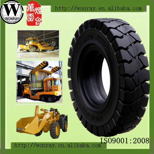 Industrial Solid Rubber Tires