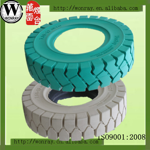 non-marking solid tire