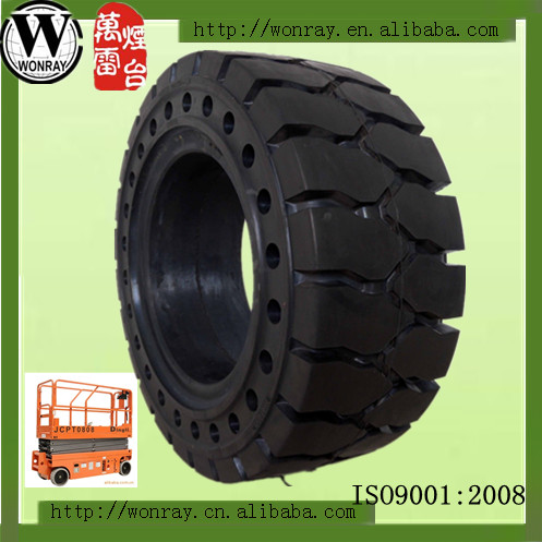 press-on solid tire