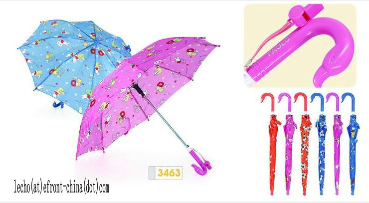 50cm Girl Designs Off-Setting Printing Kids\' Umbrella