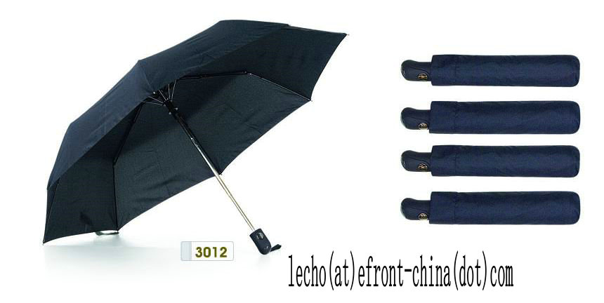 Gentlemen Umbrella, 3 Folding Auto Open & Close