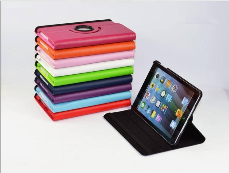 ipad 2&3&4& 5/ipad min PU leather case