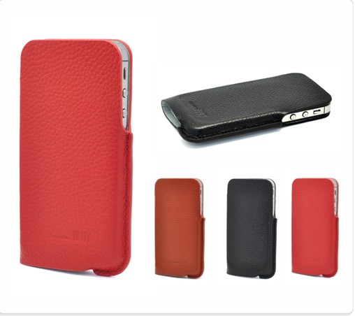 Genius Leather case for apple iphone 4