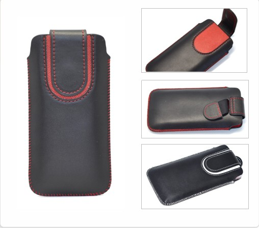 Pu leather case for Apple iphone 5